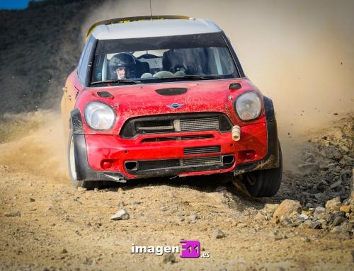 WRC Test Mini en Málaga. Dani Sordo tiene mucho trabajo por hacer.