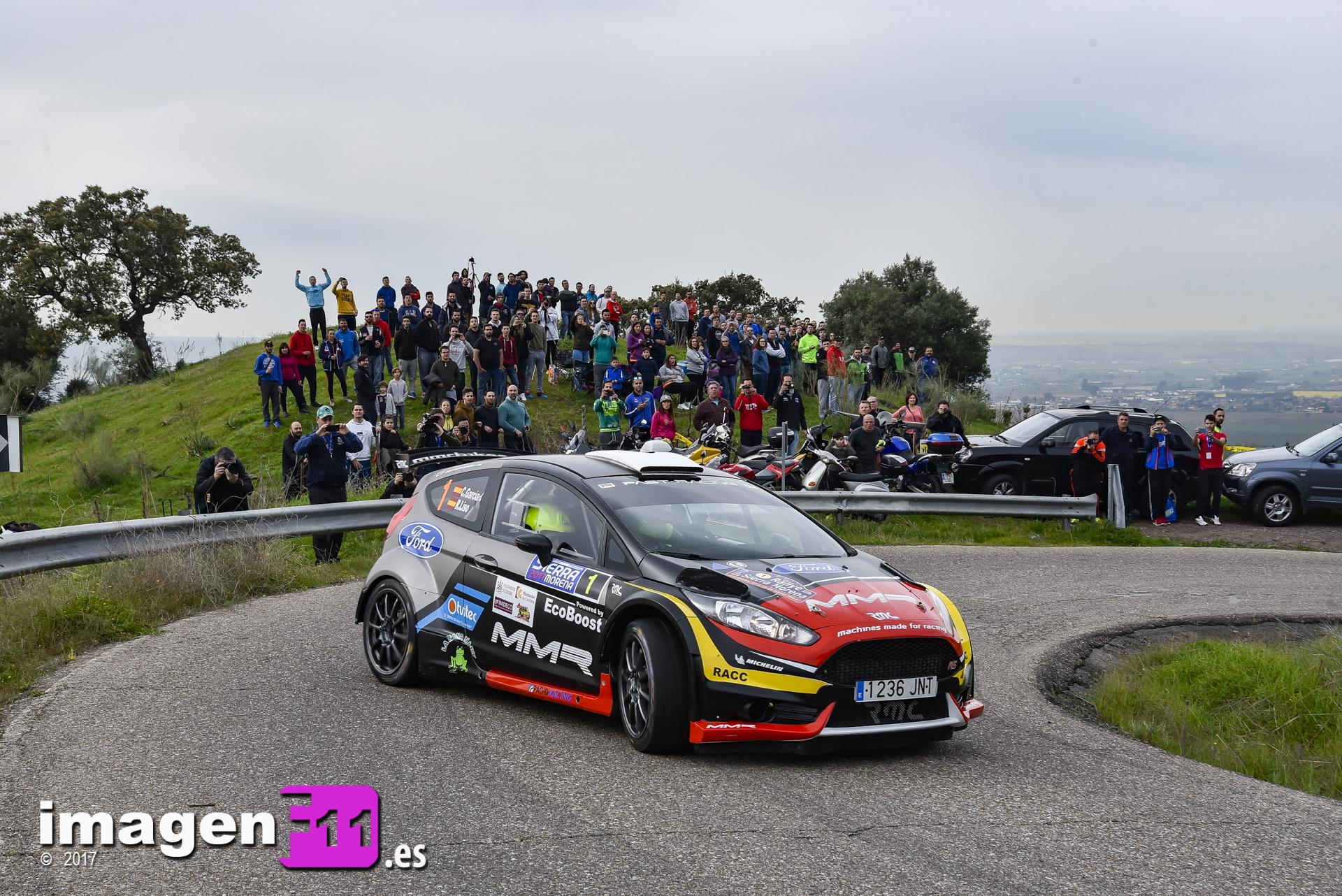 Cristian García, Rebeca Liso, Rallye Sierra Morena