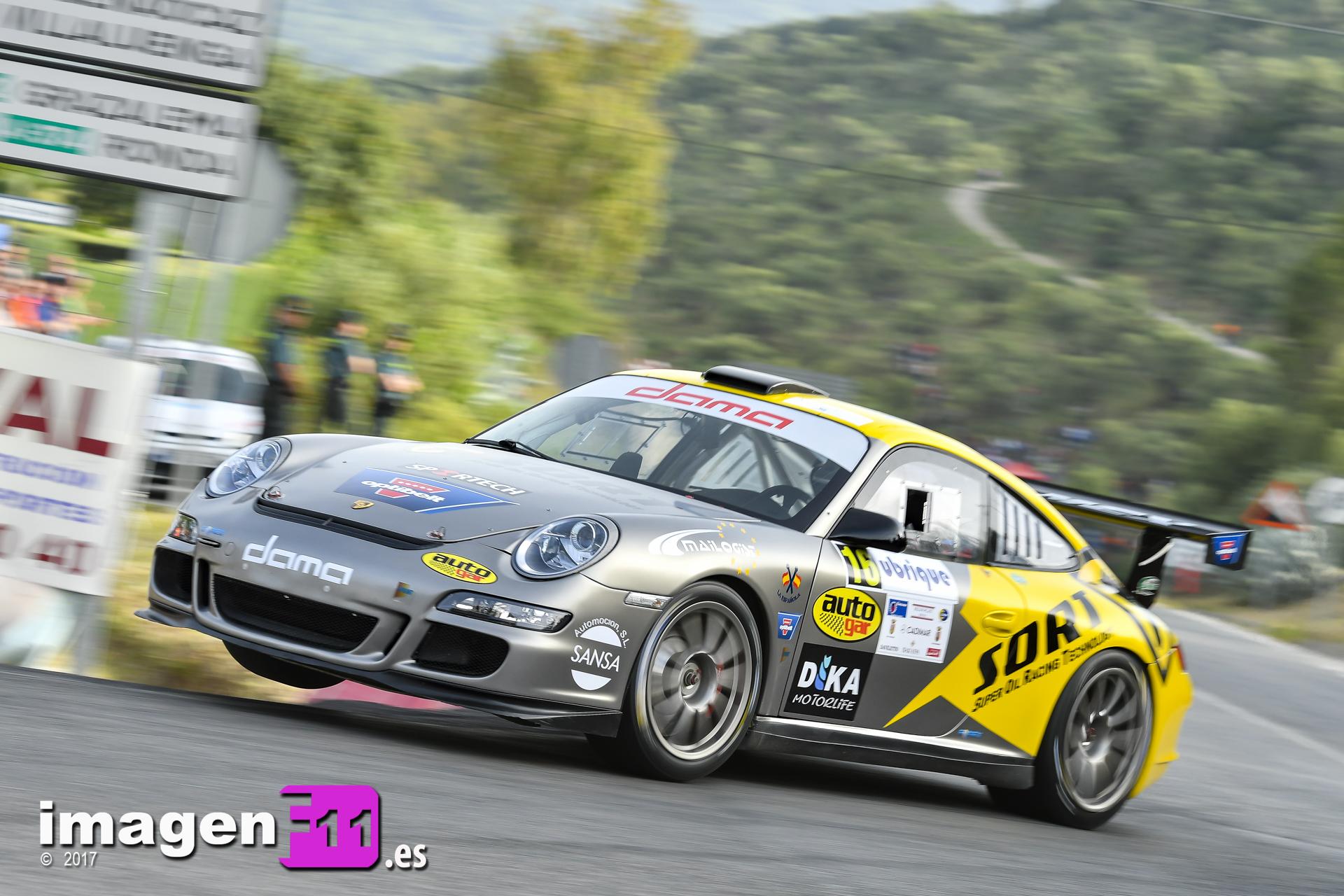 Manuel Maldonado, Porsche 911 GT3, Subida a Ubrique, Sort