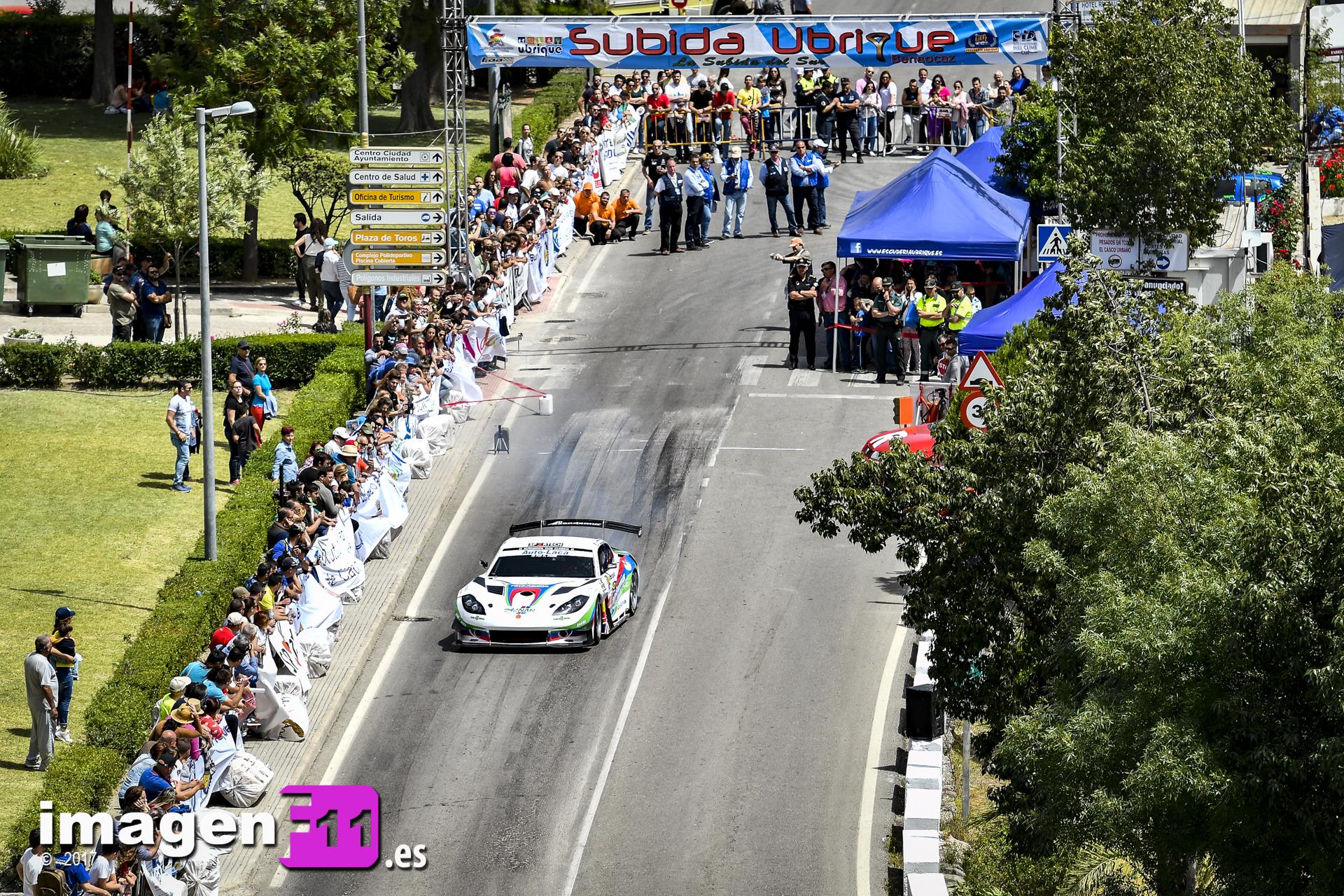 Subida a Ubrique, Ginetta G55 GT3, Jose Antonio Aznar