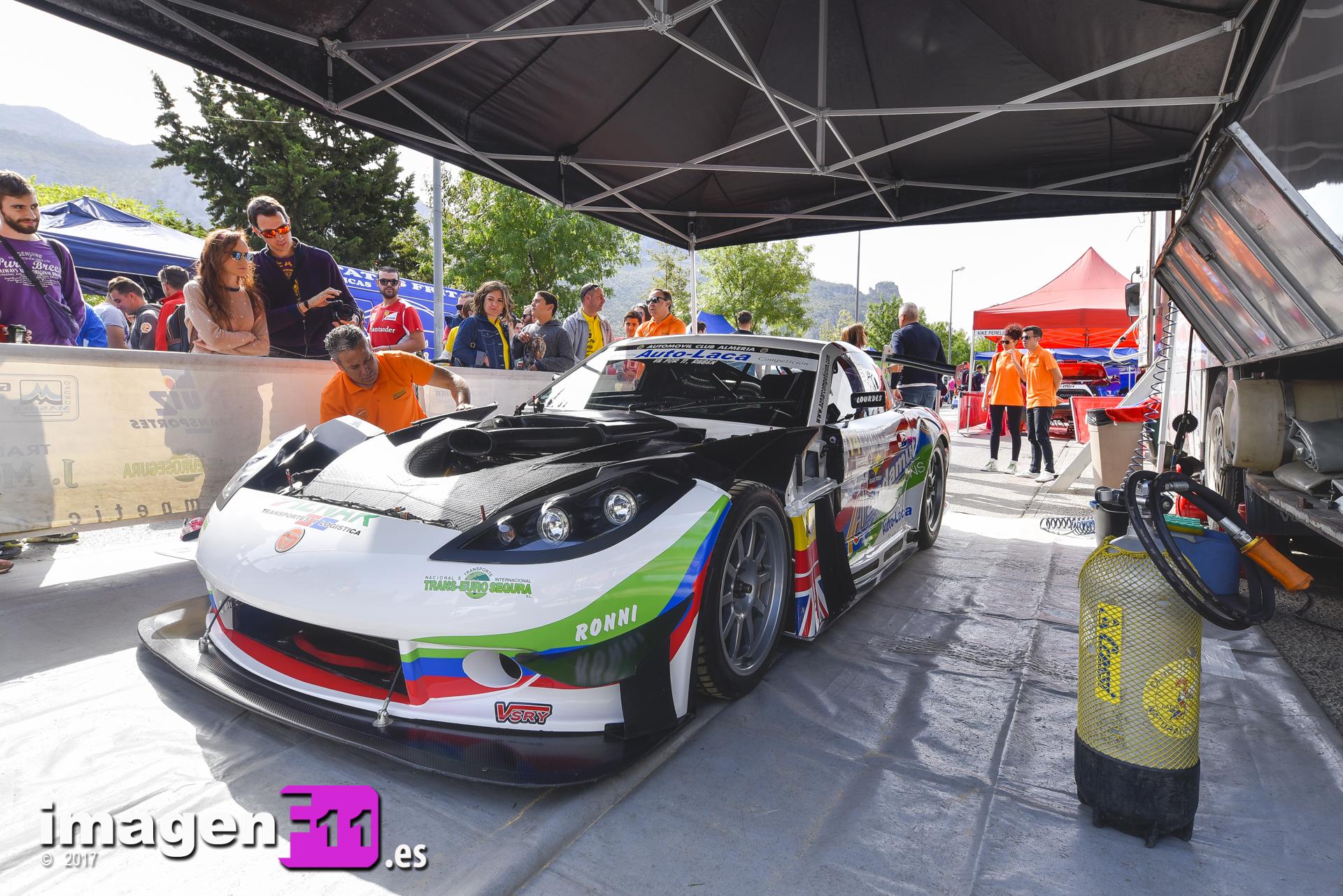 Jose Antonio Aznar, Ginetta G55 GT3, Subida a Ubrique 2017
