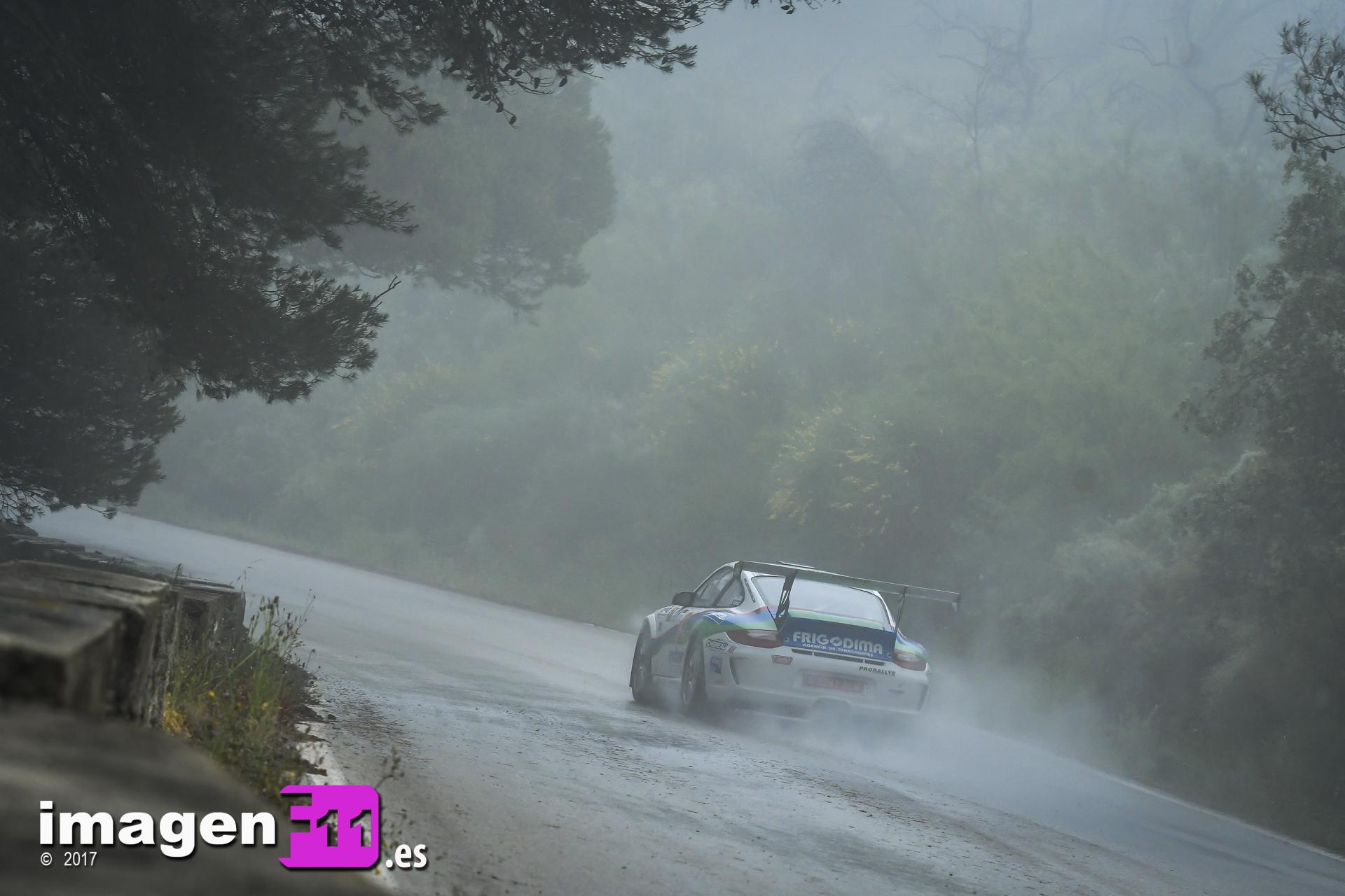 Jose Antonio Aznar, Porsche 911 GT3 Cup Rallye. Rally Gibralfaro