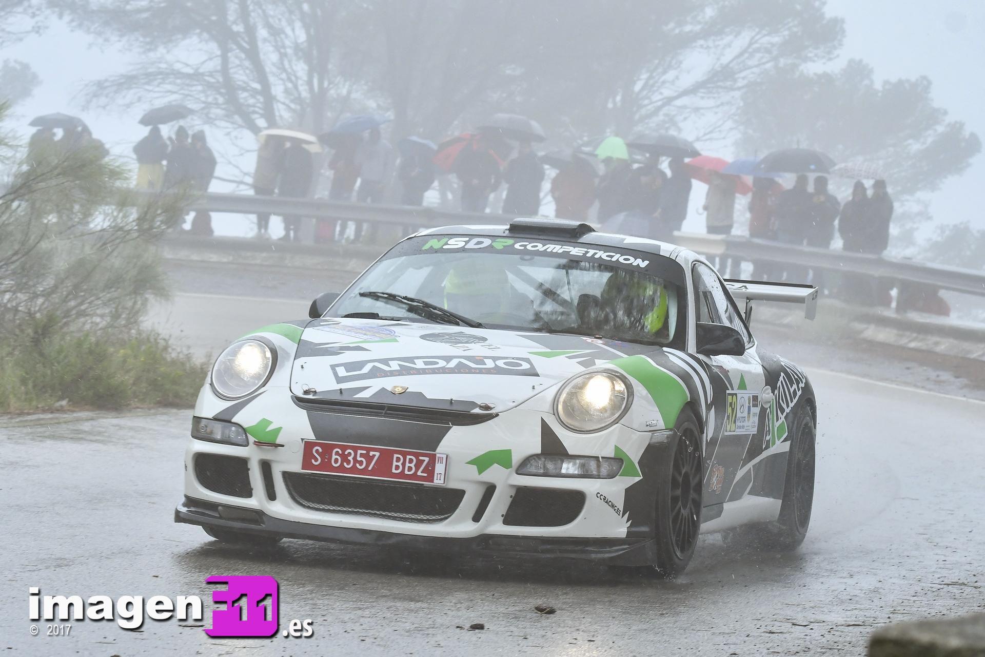 Cristóbal García, Porsche 911 GT3 Cup Rallye, Rallye Gibralfaro