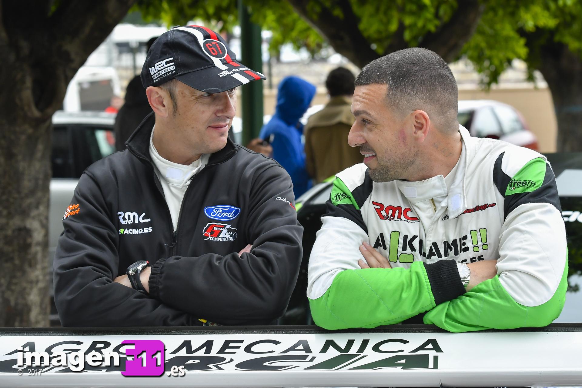 Cristóbal García, Antonio Pérez, Rally Gibralfaro