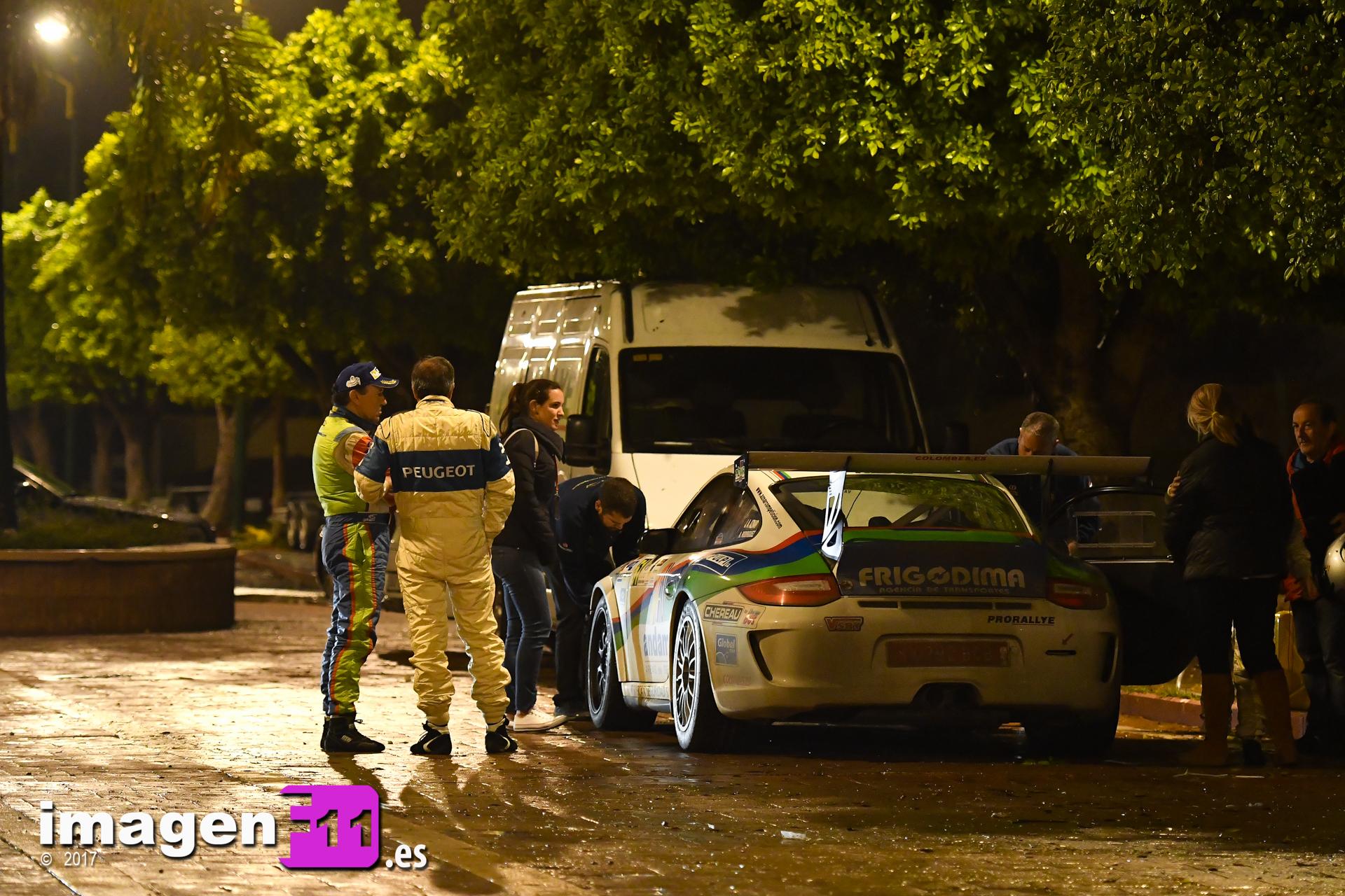 Jose Antonio Aznar, Rallye Gibralfaro