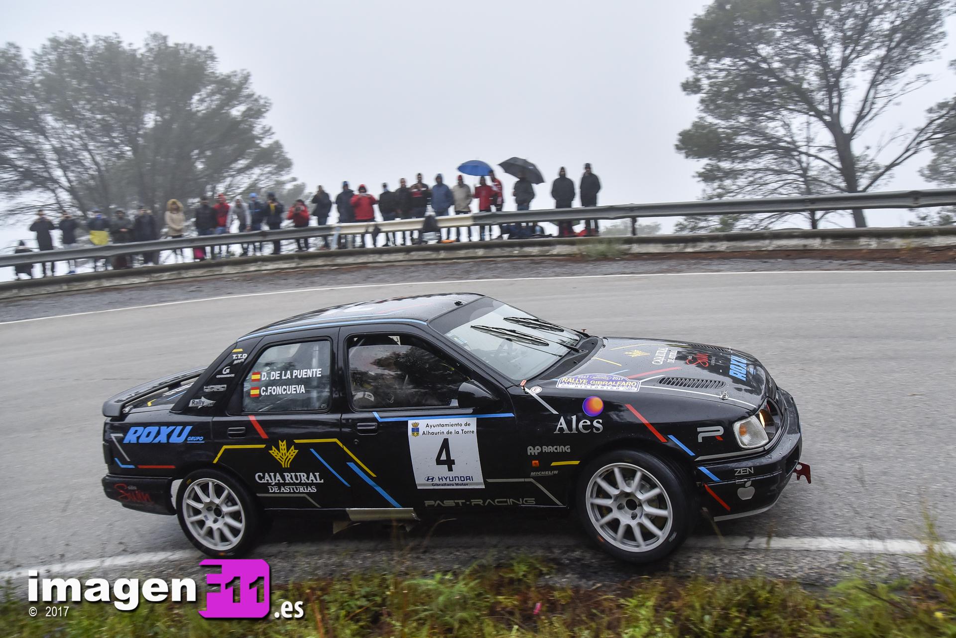 Cele Foncueva, Past Racing, Ford Sierra Cosworth, Rallye Gibralfaro