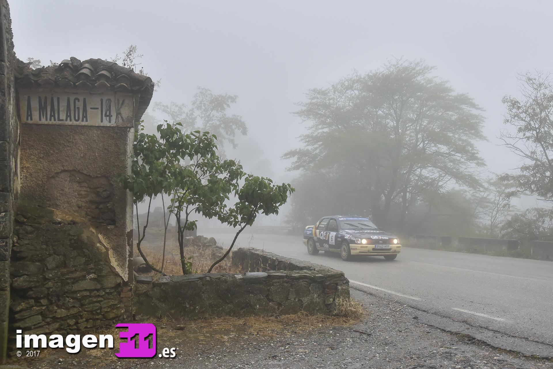 Daniel Alonso, Rallye Gibralfaro