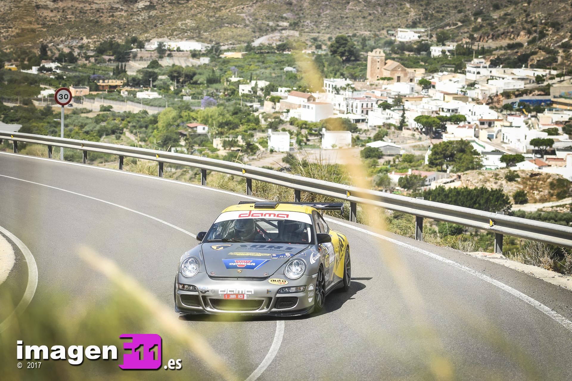 Manuel Maldonado, Porsche 911 GT3 Cup, Vícar, Rally Costa de Almería