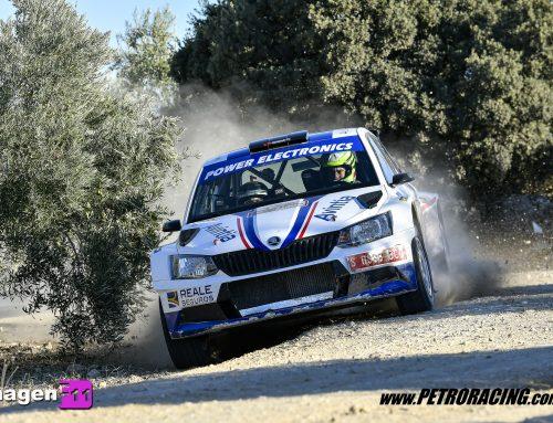 V Rallye Ciudad de Granada: Xevi Pons; punto, set y partido.
