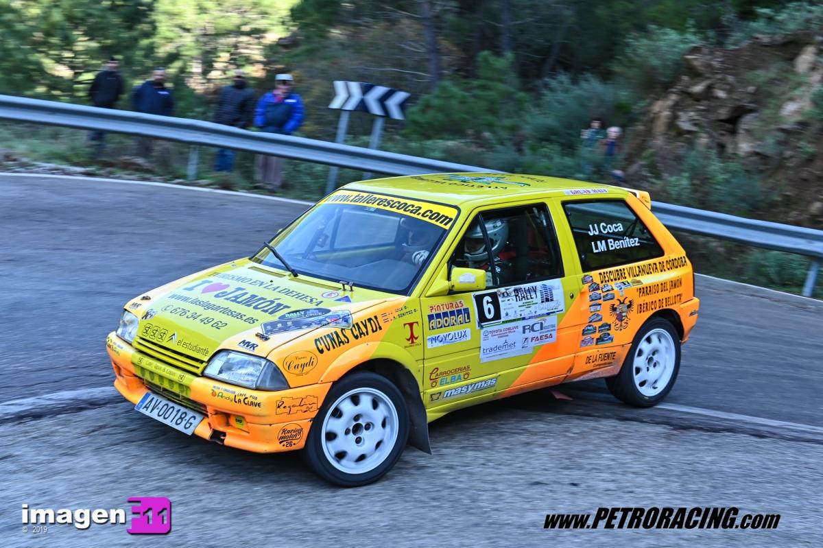 Juan Jesus Coca, Rallye Valle del Genal