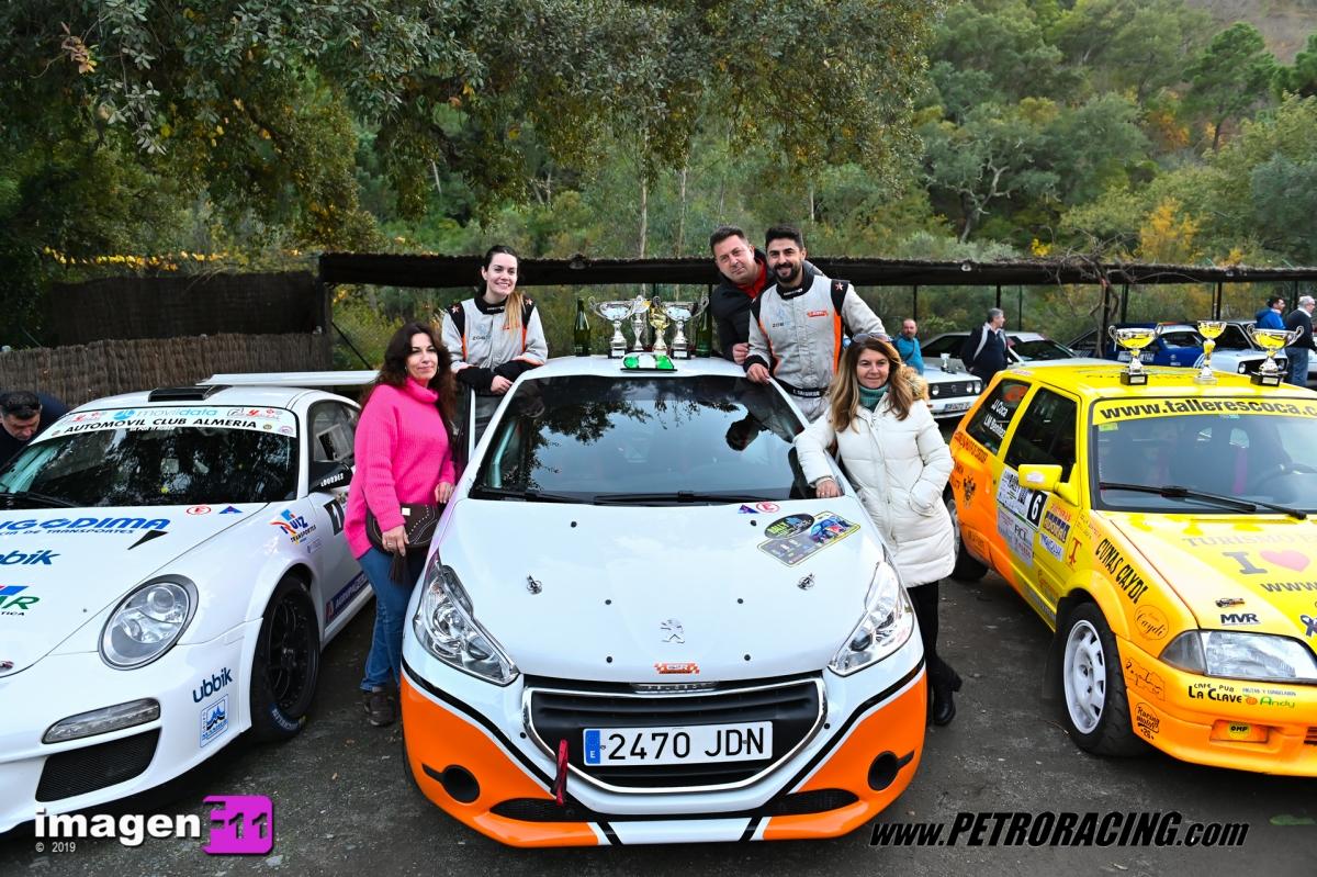 Ernesto Salguero, Rallye Valle del Genal
