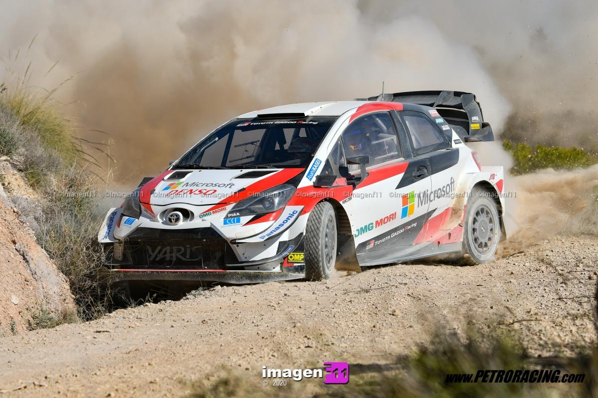 Toyota Yaris WRC, Sebastien Ogier,