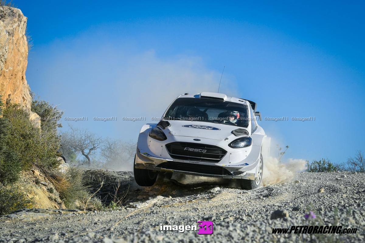 Gus Greensmith, Ford Fiesta WRC, M-Sport