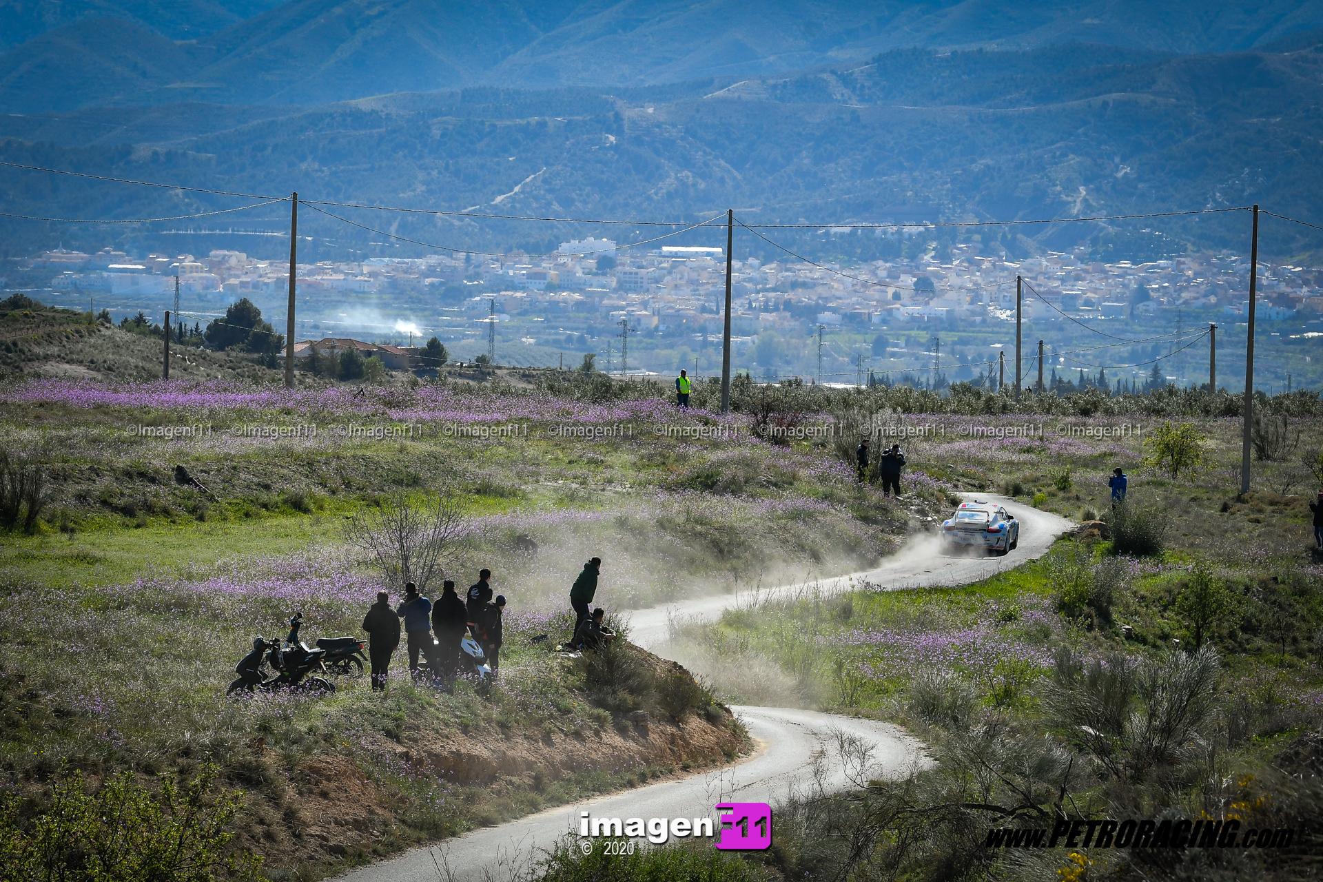 Aznar, Porsche, Rallye Valle del Almanzora