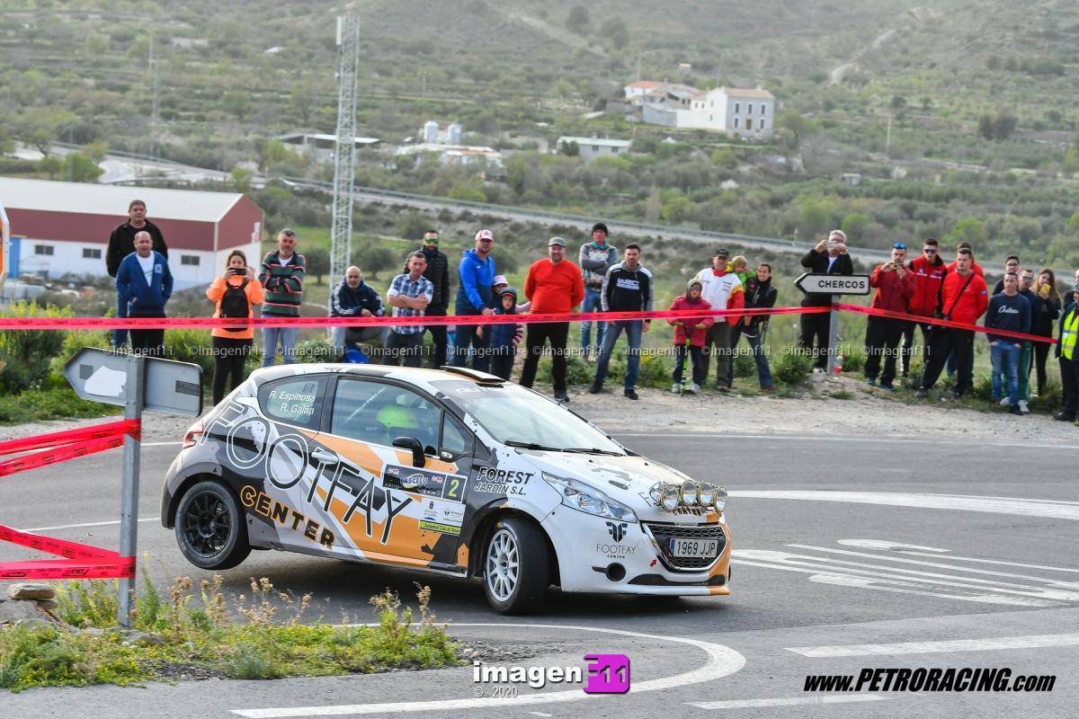Rafael Galán, Campeonato Andalucía rallye rally.