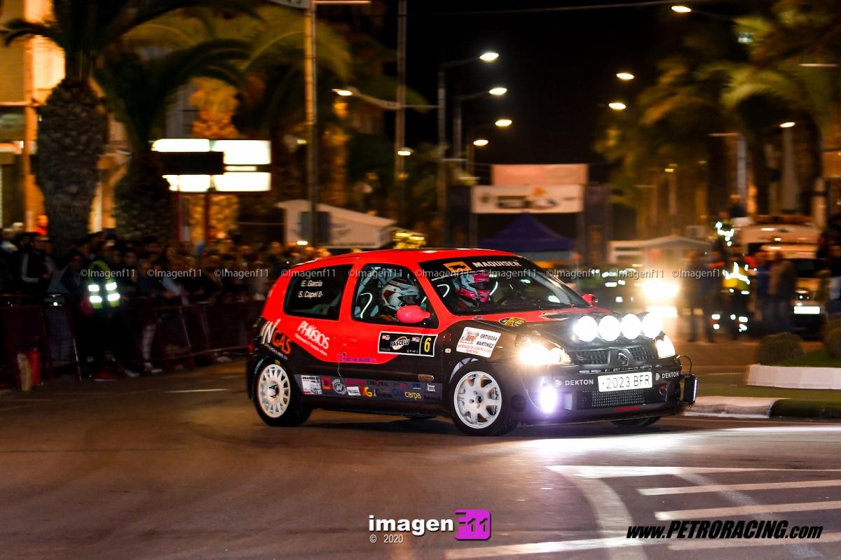 Sergio Capel, Rally Valle del Almanzora,