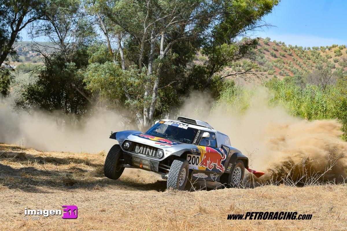 Carlos Sainz, Andalucia Rally