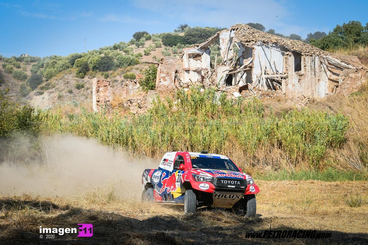 Nasser Al Attiya, Toyota Hilux, Andalucía Rally