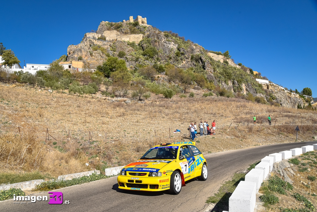 Jose Luis Toril, Seat Ibiza Kit Car, Rally Sierra de Cádiz