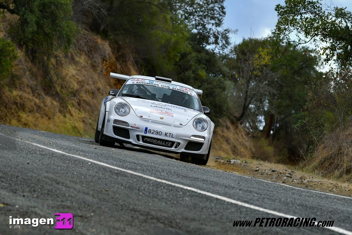 Rally Sliks Sevilla, Jose Antonio Aznar, Porsche 911 GT3,