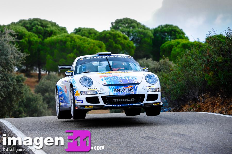 Rallye Sierra Morena 2013. Aznar Campeón de Andalucía de Rallyes