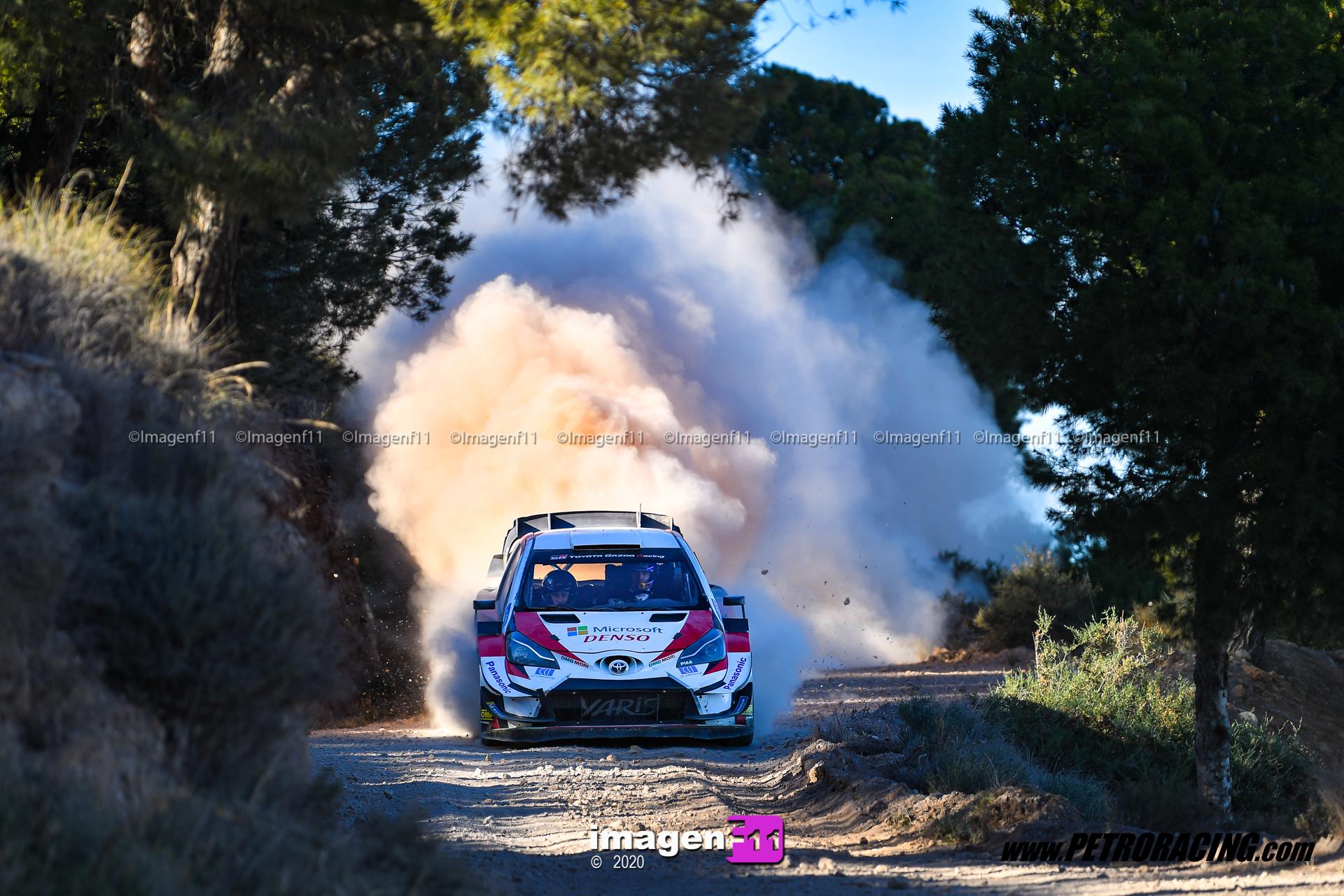 Test Ford y Toyota: Desembarco WRC en Almería