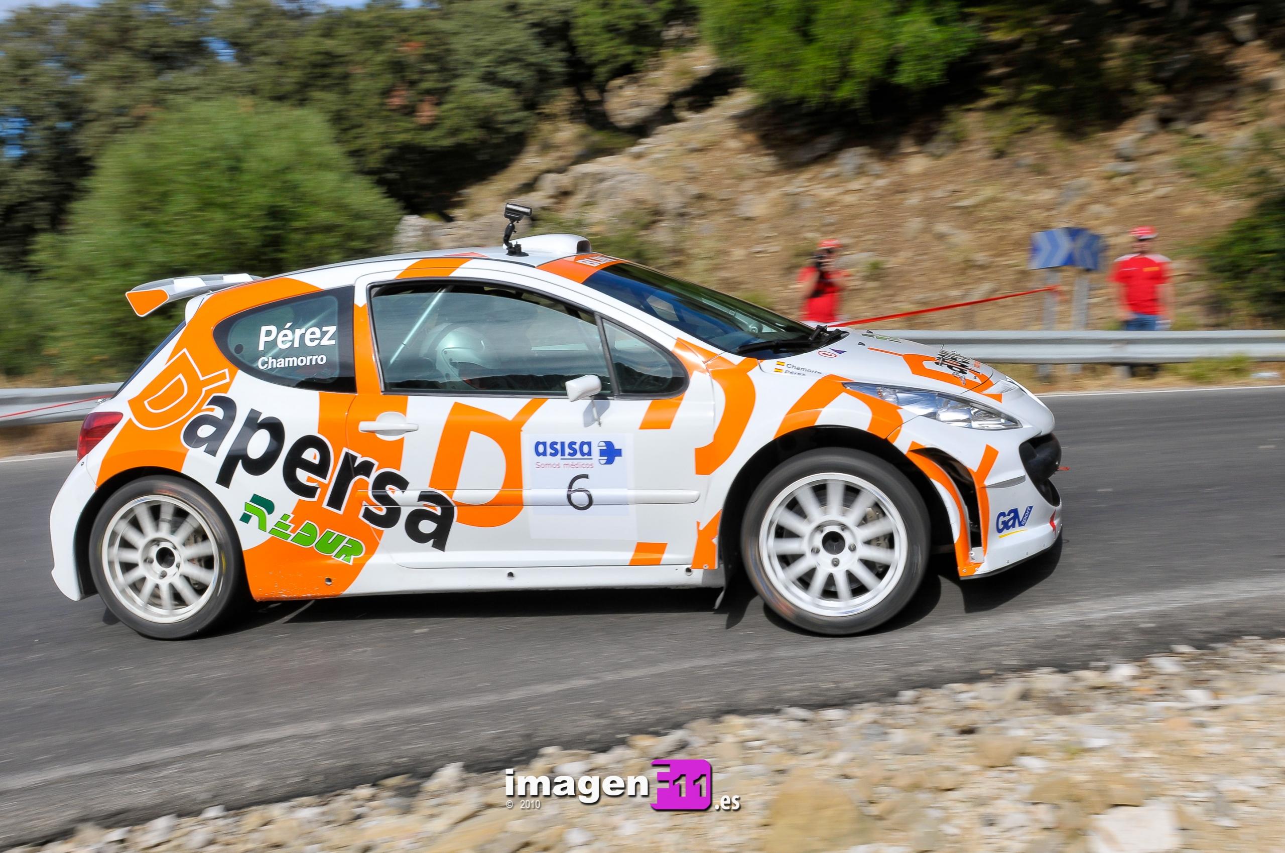 Rallye Sierra de Cádiz 2010 en imágenes